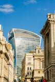 20 Fenchurch-Straat, de Toren van de akawalkie-talkie, Londen Stock Afbeeldingen
