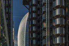 20 Fenchurch-Straat Londen van Lloyds-de bouw Royalty-vrije Stock Foto's