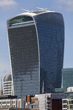 20 Fenchurch-Straat Skycraper in Londen Stock Foto's