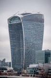 20 Fenchurch Street, aka The Walkie-Talkie, in London Royalty Free Stock Image