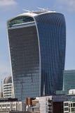 20 Fenchurch Uliczny Skycraper w Londyn Zdjęcia Stock