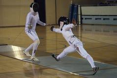Fencing-1 foto de archivo libre de regalías