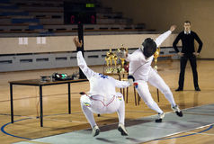 Fencing-10 Stock Photo