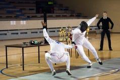 Fencing-10 foto de archivo