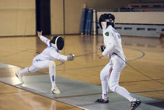 Fencing-11 Obrazy Stock