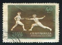 fencing foto de archivo libre de regalías