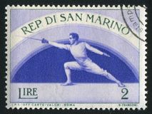 fencing imagen de archivo libre de regalías