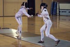 Fencing-2 fotos de archivo libres de regalías