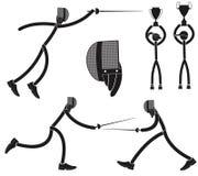 fencing Stock Afbeeldingen