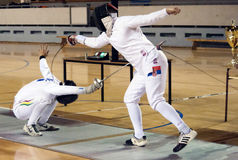 Fencing-8 Royalty Free Stock Photos