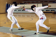 Fencing-9 Photos stock