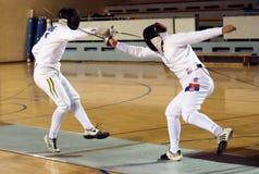 Fencing-9 Fotografie Stock
