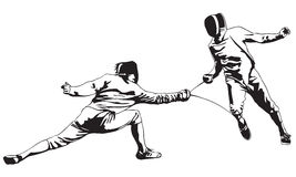 Fencing Royalty Free Stock Image