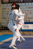 Fencing Cup Torino 2013 Royalty Free Stock Image