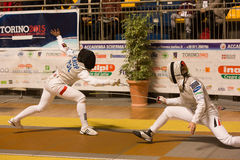 Fencing Cup Torino 2013 Stock Photography