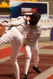 Fencing Cup Torino 2013 Stock Image
