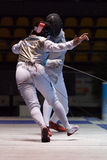 Fencing Cup Torino 2013 Stock Photo