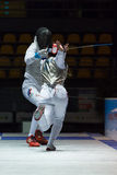 Fencing Cup Torino 2013 Royalty Free Stock Photos