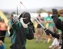 Fencing Exhibition Stock Image
