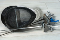 Fencing Foil Equipment Stock Photography