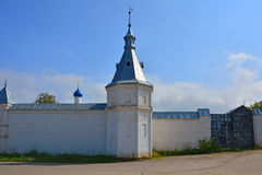 Fencing and gate of Trinity Danilov monastery in Pereslavl-Zalessky, Russia Royalty Free Stock Photo