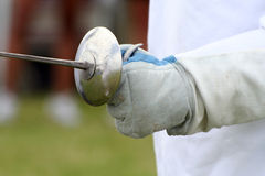 Fencing glove Stock Images