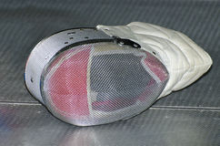 Fencing mask Stock Photos