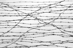 fencing ogrodzenie barbed przewód pozwalać więzienie kolce blok Więzień Holokausta Koncentracyjny obóz więźniowie Zdjęcia Stock