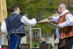 Fencing performance Tallinn Stock Images