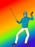 Fencing  sport Royalty Free Stock Photo