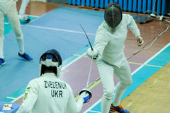 Fencing Royalty Free Stock Photo