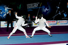 Fencing world cup 2010 Stock Photo