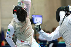 FENCING WORLD CUP: Foil Venice's Trophy - BALDINI Stock Image