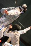 FENCING WORLD CUP: Foil Venice's Trophy - BALDINI Royalty Free Stock Photos