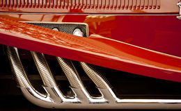 Fender and Exhaust Pipes Royalty Free Stock Image