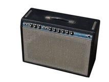 Fender-Gitarre Ampere Stockbild