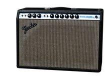 Fender-Gitarre Ampere Lizenzfreies Stockfoto