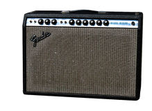 Fender Guitar Amp Royalty Free Stock Photo