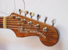 Fender guitar Stock Images