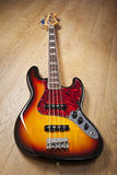 Fender Jazz Bass stockbild
