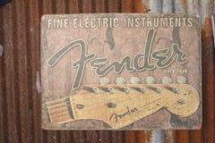 Fender logo banner