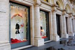 Fendi in Rome Stock Image