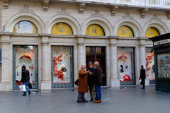 Fendi in Rome Royalty Free Stock Photos