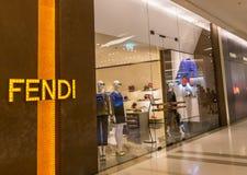 Fendi shoppar Arkivbild