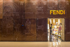 Fendi store Royalty Free Stock Photo