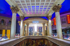 Fendi store Royalty Free Stock Photography
