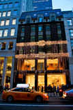 Fendi Store in Manhattan, NYC stock photos