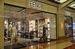 Fendi store in one of the casino building in Macau Stock Photo