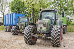 Fendt Tractors Royalty Free Stock Photography