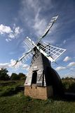 fenen wicken windmillen Royaltyfri Fotografi
